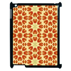 Colorful Floral Print Vector Style Apple Ipad 2 Case (black) by dflcprints