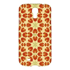 Colorful Floral Print Vector Style Samsung Galaxy S4 I9500/i9505 Hardshell Case by dflcprints