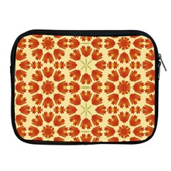 Colorful Floral Print Vector Style Apple Ipad Zippered Sleeve by dflcprints