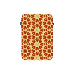 Colorful Floral Print Vector Style Apple Ipad Mini Protective Sleeve by dflcprints