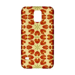Colorful Floral Print Vector Style Samsung Galaxy S5 Hardshell Case  by dflcprints