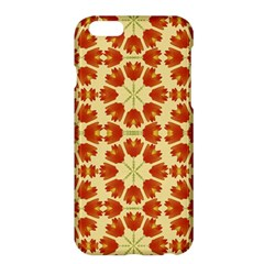 Colorful Floral Print Vector Style Apple Iphone 6 Plus Hardshell Case by dflcprints