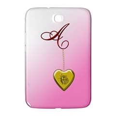 A Golden Rose Heart Locket Samsung Galaxy Note 8 0 N5100 Hardshell Case  by cherestreasures