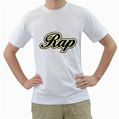 Rap Music Men s T Shirt (white)  by goodmusic
