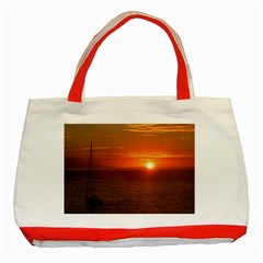 Good Night Mexico Classic Tote Bag (red) by cherestreasures