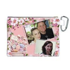 Easter Canvas Cosmetic Bag (xl) By Deborah   Canvas Cosmetic Bag (xl)   8xmiov23mrxf   Www Artscow Com Back