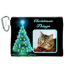 Christmas Things 3 Cosmetic Bag (xl) By Deborah   Canvas Cosmetic Bag (xl)   Z60tgtqg8xl6   Www Artscow Com Front