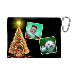 Christmas Things 3 Cosmetic Bag (xl) By Deborah   Canvas Cosmetic Bag (xl)   Z60tgtqg8xl6   Www Artscow Com Back