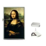 Leonardo Da Vinci Mona Lisa Flip Top Lighter