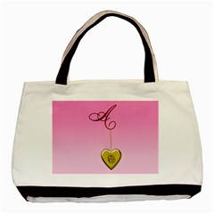 A Golden Rose Heart Locket Classic Tote Bag by cherestreasures