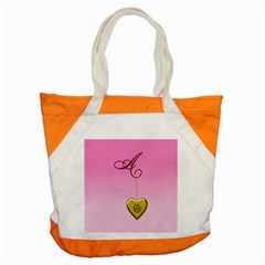 A Golden Rose Heart Locket Accent Tote Bag by cherestreasures
