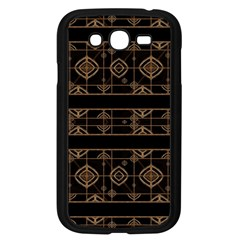 Dark Geometric Abstract Pattern Samsung Galaxy Grand Duos I9082 Case (black) by dflcprints