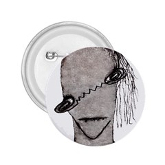 Vampire Monster Illustration 2 25  Button by dflcprints