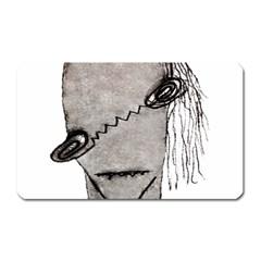 Vampire Monster Illustration Magnet (rectangular) by dflcprints