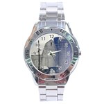 Stainless Steel Analogue Watch