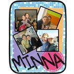 minna blanket - Fleece Blanket (Mini)