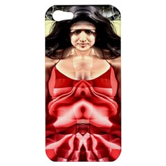 Cubist Woman Apple Iphone 5 Hardshell Case by icarusismartdesigns
