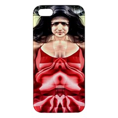 Cubist Woman Apple Iphone 5 Premium Hardshell Case by icarusismartdesigns