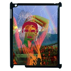 Fusion With The Landscape Apple Ipad 2 Case (black) by icarusismartdesigns