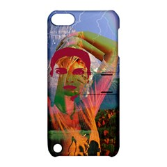 Fusion With The Landscape Apple Ipod Touch 5 Hardshell Case With Stand by icarusismartdesigns