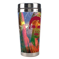 Fusion With The Landscape Stainless Steel Travel Tumbler by icarusismartdesigns