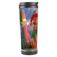 Fusion With The Landscape Travel Tumbler by icarusismartdesigns