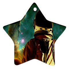 Lost In The Starmaker Star Ornament by icarusismartdesigns