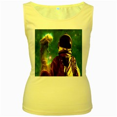 Lost In The Starmaker Women s Tank Top (yellow) by icarusismartdesigns
