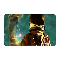 Lost In The Starmaker Magnet (rectangular) by icarusismartdesigns