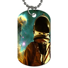 Lost In The Starmaker Dog Tag (two Sided)  by icarusismartdesigns