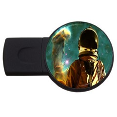 Lost In The Starmaker 2gb Usb Flash Drive (round) by icarusismartdesigns