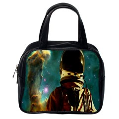 Lost In The Starmaker Classic Handbag (one Side) by icarusismartdesigns