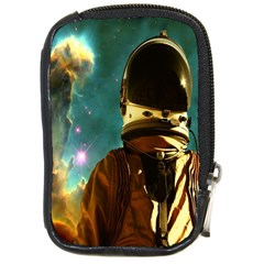 Lost In The Starmaker Compact Camera Leather Case by icarusismartdesigns