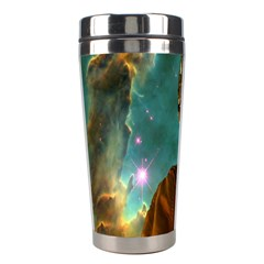 Lost In The Starmaker Stainless Steel Travel Tumbler by icarusismartdesigns
