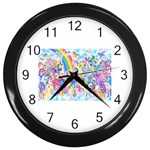 my little pony2 Wall Clock (Black)