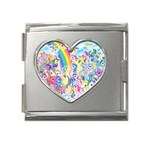 my little pony2 Mega Link Heart Italian Charm (18mm)