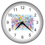 my little pony2 Wall Clock (Silver)