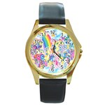 my little pony2 Round Gold Metal Watch