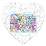 my little pony2 Jigsaw Puzzle (Heart)