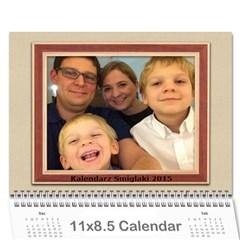 Kalendarz 2015 By Marcin   Wall Calendar 11  X 8 5  (12 Months)   1p2f0xb7a597   Www Artscow Com Cover