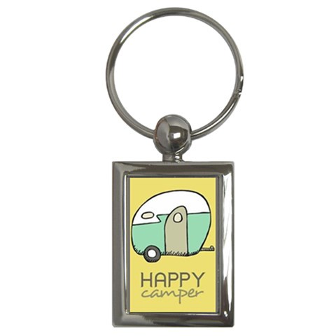 Camper By Jeni   Key Chain (rectangle)   N6dhi7sh3rj7   Www Artscow Com Front