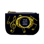 Golden Music Mini Coin Purse