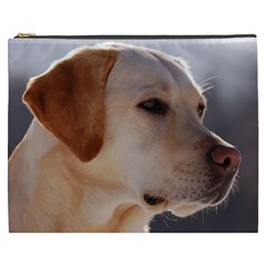 3 Labrador Retriever Cosmetic Bag (XXXL) by TailWags