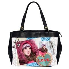 Llove By Ki Ki   Oversize Office Handbag (2 Sides)   4n0oopyfztlk   Www Artscow Com Front