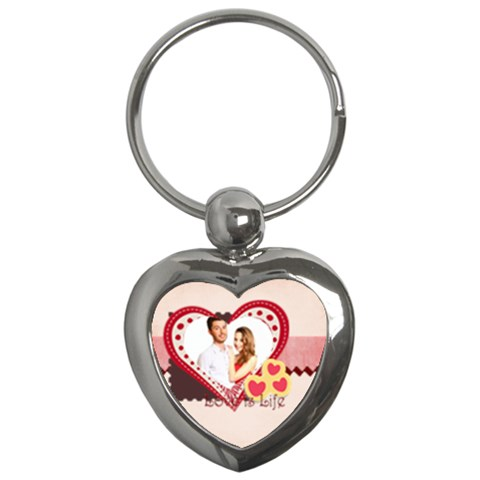 Love By Ki Ki   Key Chain (heart)   322n67d7spze   Www Artscow Com Front