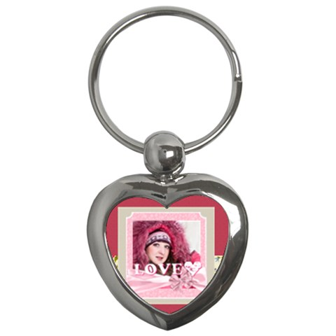Love By Ki Ki   Key Chain (heart)   Da3f6ryfxiir   Www Artscow Com Front