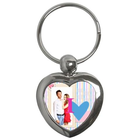 Love By Ki Ki   Key Chain (heart)   L7xbp1oi8k8q   Www Artscow Com Front