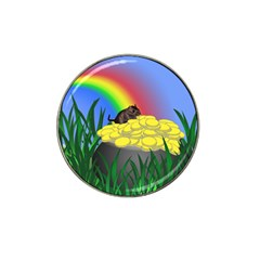 Pot Of Gold With Gerbil Golf Ball Marker 10 Pack (for Hat Clip) by designedwithtlc