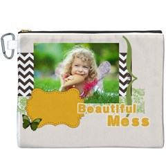 Kids By Kids   Canvas Cosmetic Bag (xxxl)   Utzm5ws5vwbs   Www Artscow Com Front