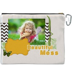 Kids By Kids   Canvas Cosmetic Bag (xxxl)   Utzm5ws5vwbs   Www Artscow Com Back